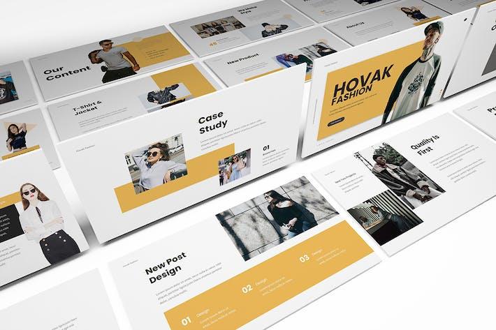 Thumbnail for Hovak Мода Google Слайды Шаблон