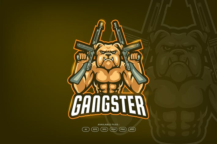 Thumbnail for Gangster Bull Dog Gun Shoot Mafia