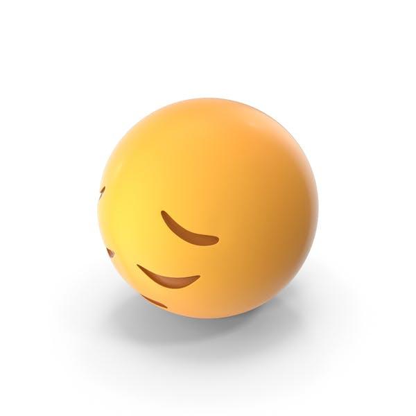 Sad Pensive Face Emoji