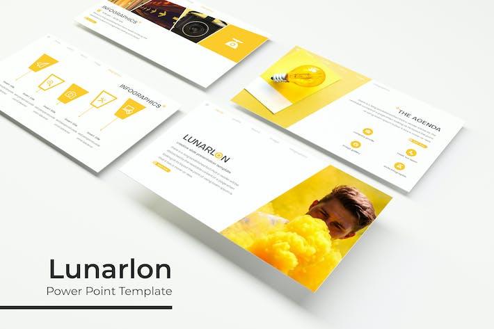 Thumbnail for Lunarlon - Powerpoint Template