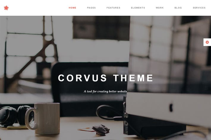 Thumbnail for Corvus - Agency Business HTML Template