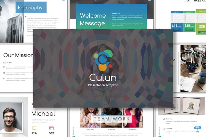 Thumbnail for Culun - Keynote Template