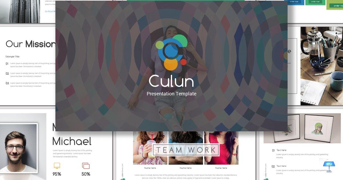 Culun - Keynote Template by inspirasign