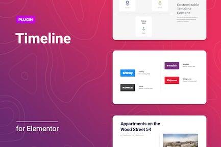 Timeline for Elementor