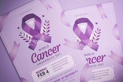 World Cancer Day Flyer