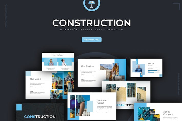 Thumbnail for Construction - Keynote Template