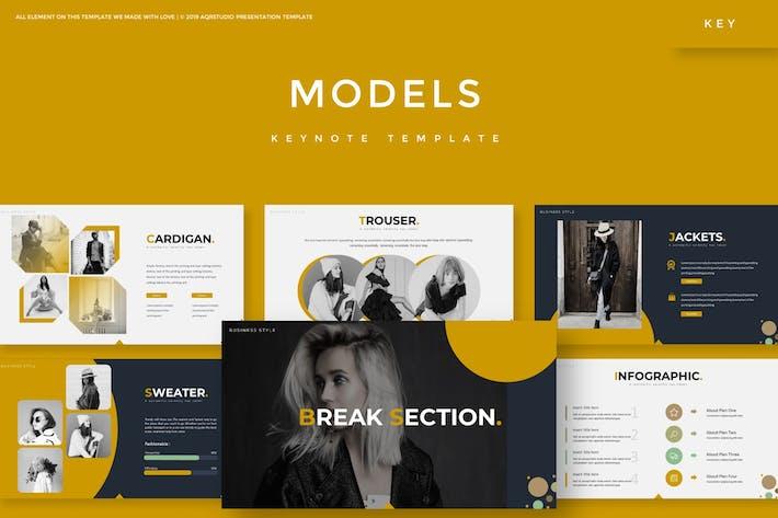 Thumbnail for Модели - Шаблон Keynote