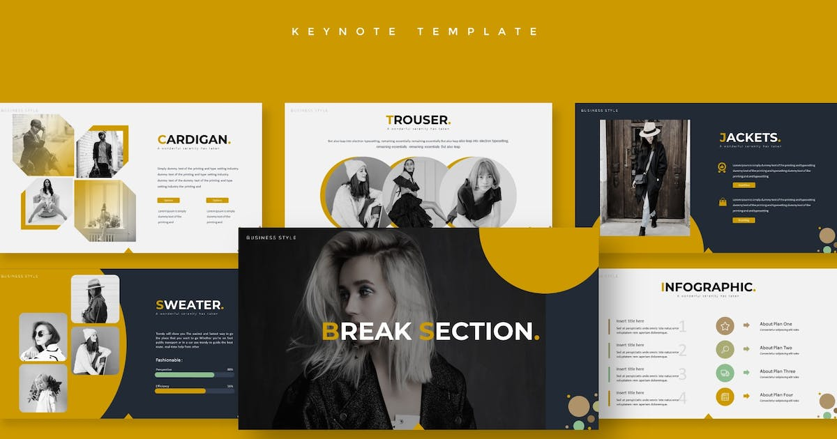 Download Models - Keynote Template by aqrstudio