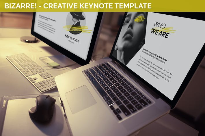 Thumbnail for Bizarre - Creative Keynote Template