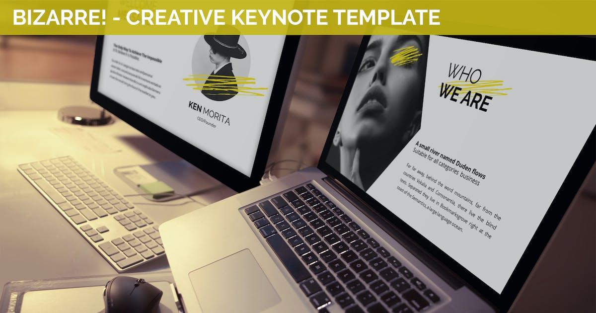 Download Bizarre - Creative Keynote Template by SlideFactory