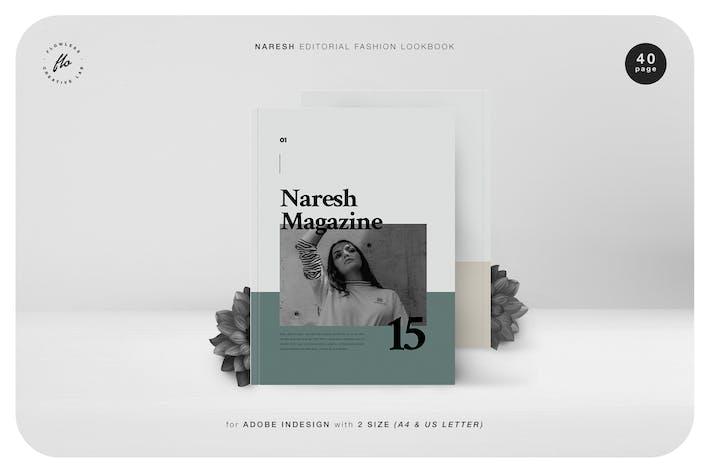 Thumbnail for Naresh Editorial Fashion Lookbook