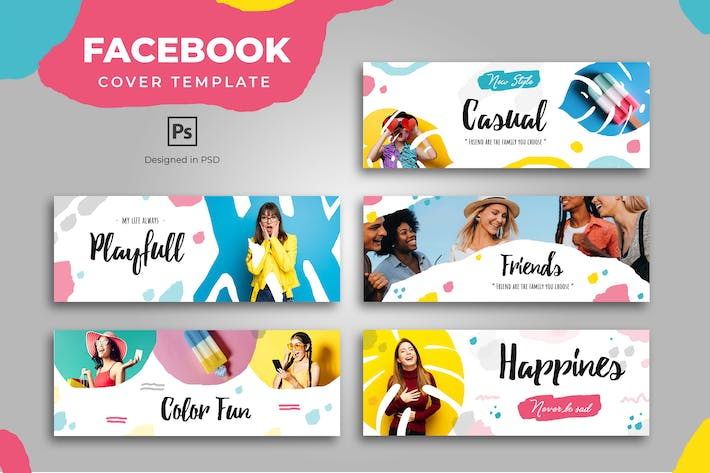 Thumbnail for Urban Fashion Facebook Cover Template