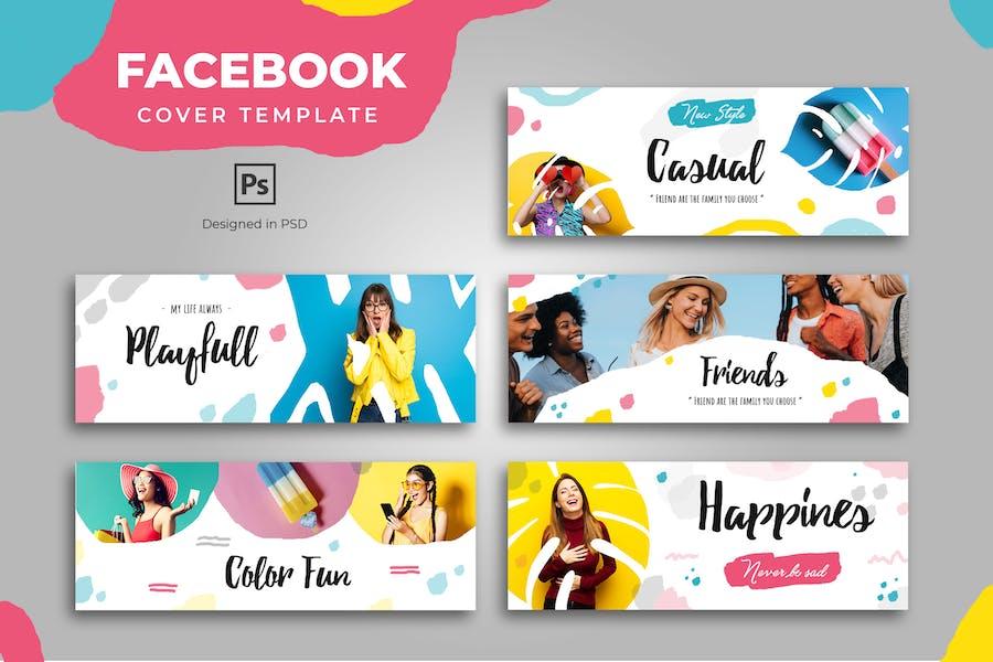 Facebook Urban Fashion Cover Template