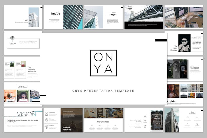 Thumbnail for Onya Minimal Creative Google Slide