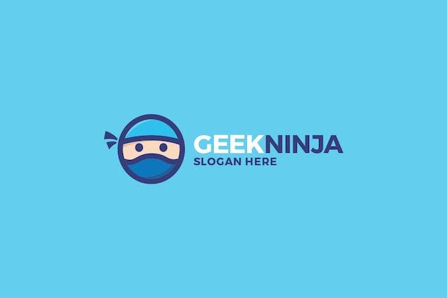 Geek Ninja Logo - product preview 1