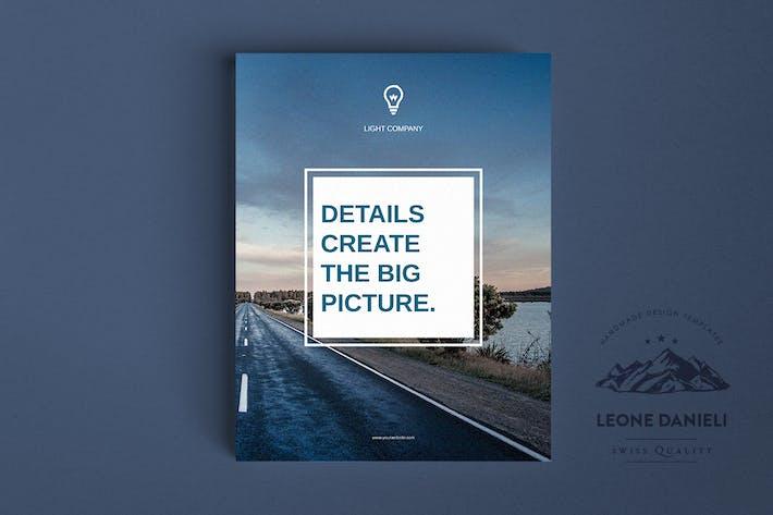 Cover Image For Corporate Bi-fold Brochure