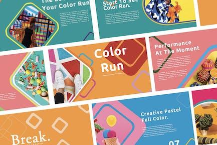 Creative Color Run - Keynote