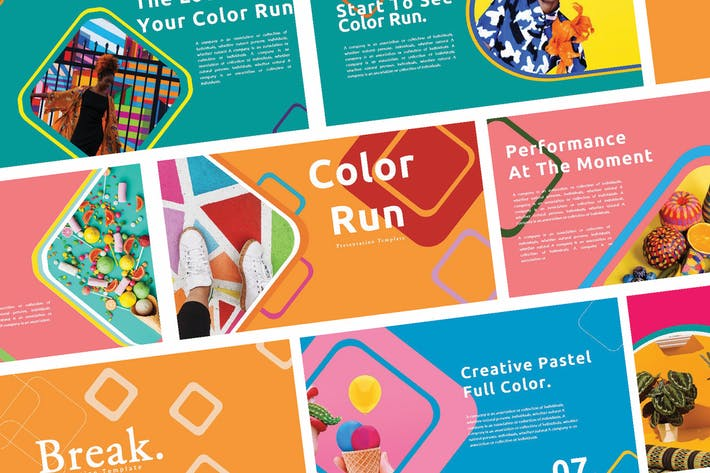 Thumbnail for Creative Color Run - Keynote