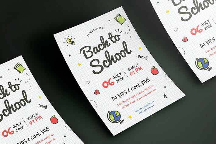Thumbnail for Back To School Flyer 2