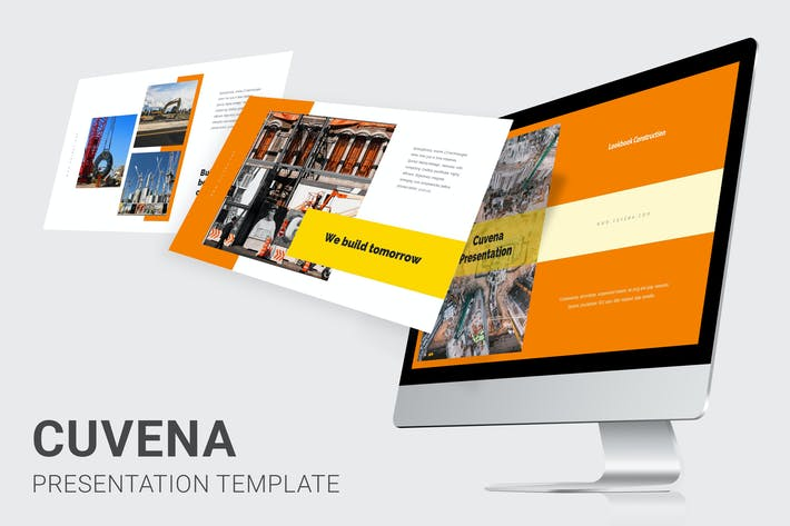 Thumbnail for Cuvena - Строительная и инженерная Keynote