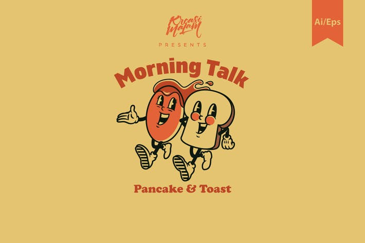 Thumbnail for Morning Talk Logo Template
