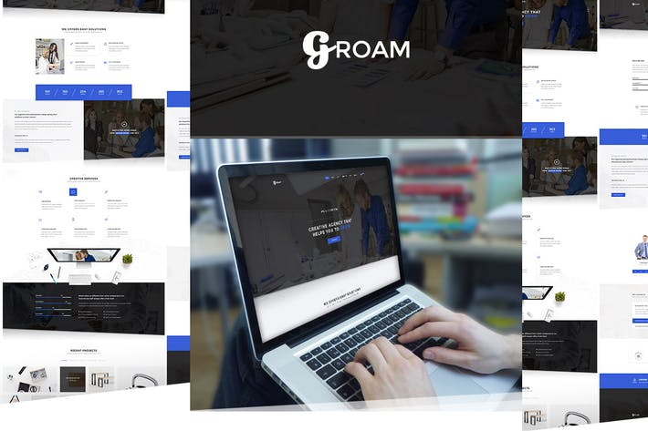 Thumbnail for GROAM - Multipurpose HTML Template