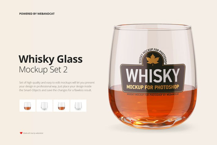 Thumbnail for Whisky Glass Mockup 2