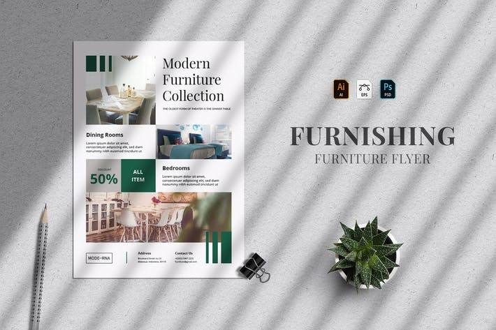 Furnishing - Flyer Template 26