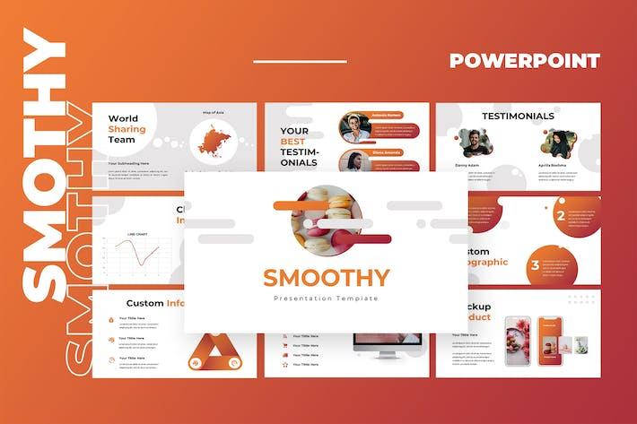 Thumbnail for Smoothy - Googleslides Presentation