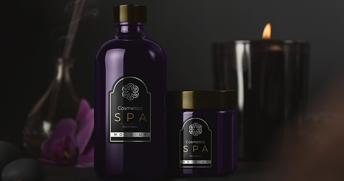 SPA Cosmetics Mockup v.2 by Genetic96