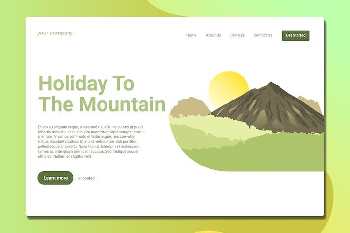 Mountain - Landing Page