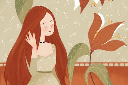 Illustration - Autumn Palette