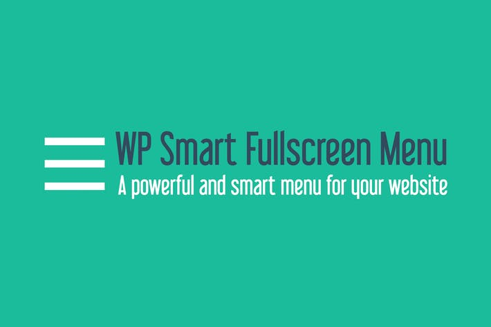 Thumbnail for WP Smart Fullscreen Menu