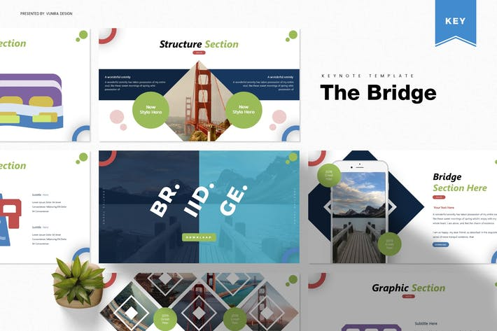 Thumbnail for The Bridge | Keynote Template
