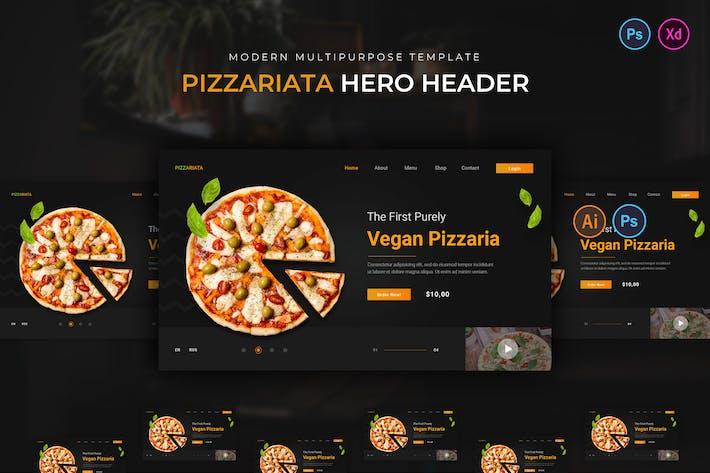 Pizzariata Hero Header