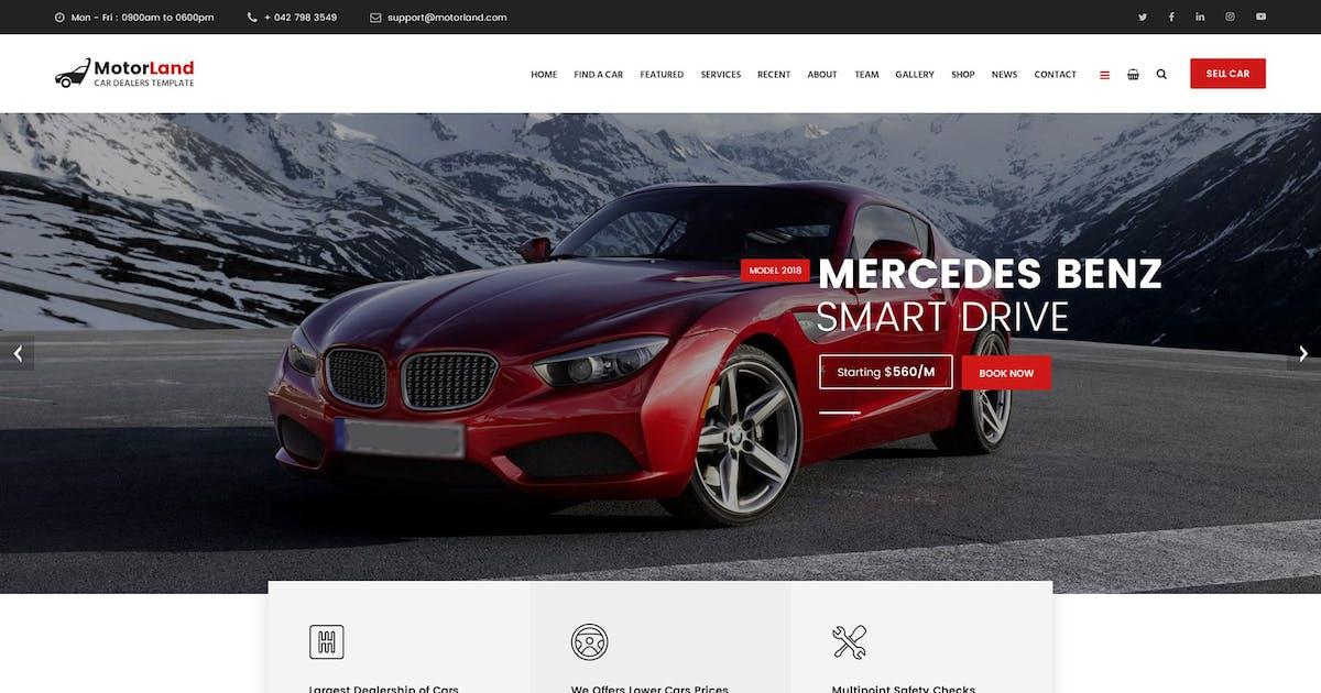 Download MOTORLAND - Car Dealer Template by Templines