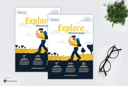 Enjoy Travel Agency - Creative Flyer Vol.05 GR