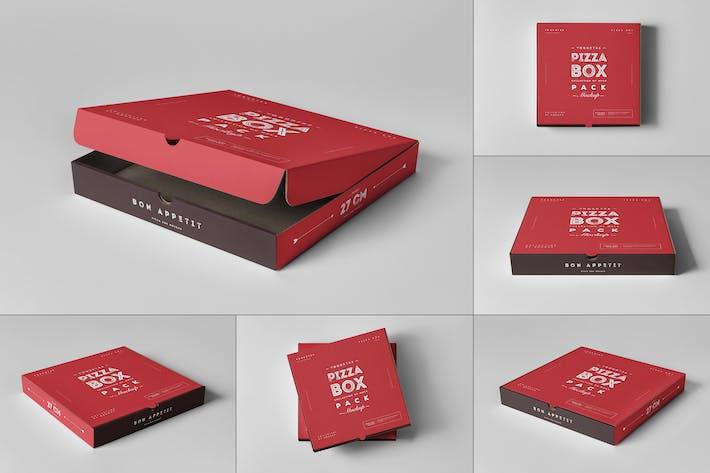 Thumbnail for 27 Pizza Box Mock-up