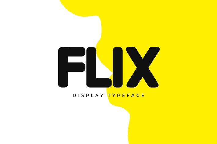 Thumbnail for FLIX - Unique Display / Logo Typeface