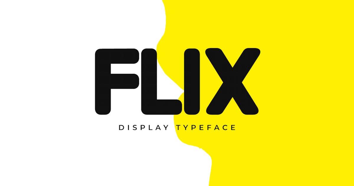 Download FLIX - Unique Display / Logo Typeface by designova