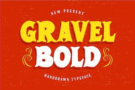 GravelBold Typeface