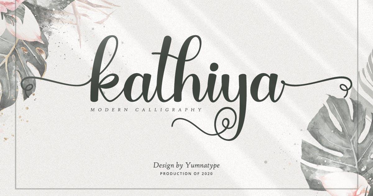 Download Kathiya Script by YumnaStudio
