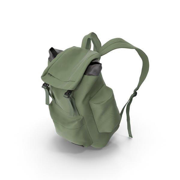 Мужской рюкзак зеленый