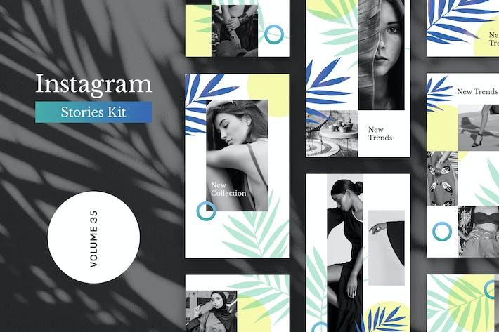 Thumbnail for Instagram Stories Kit (Vol.35)