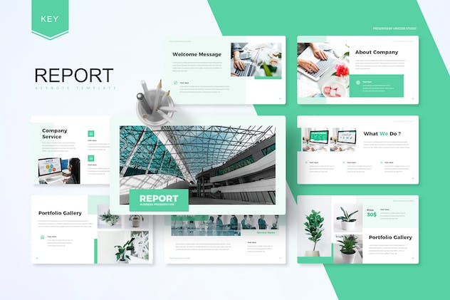 Report -  Business Keynote Template