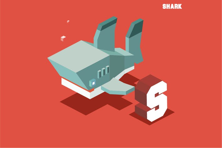 Thumbnail for S for Shark, Animal Alphabet