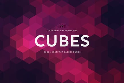 Cubes Abstract  Backgrounds