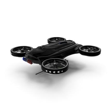 Drone with Machine Gun
