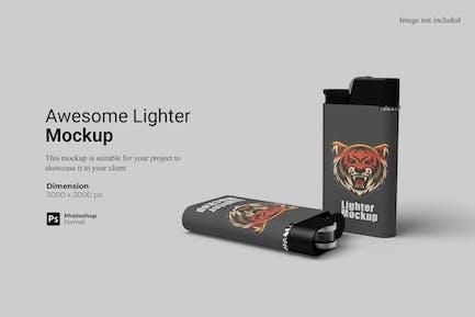 Awesome Lighter Mockup