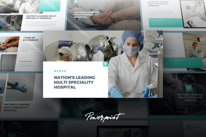 Thumbnail for Medca - Medical Powerpoint Template